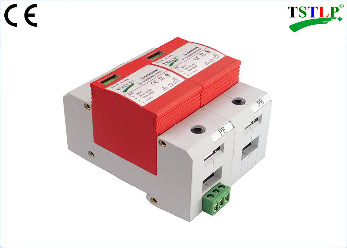Reliable Single Phase Voltage Surge Protector , In 100ka Surge Protection Device
