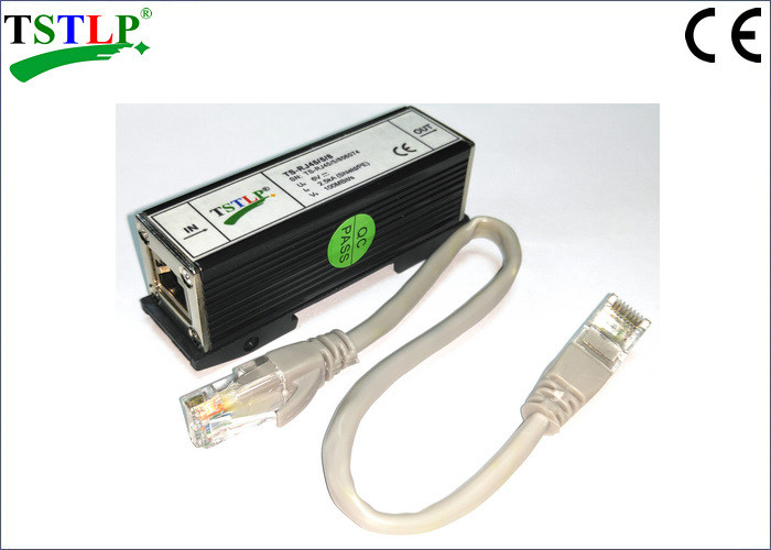 RJ45 Lightning Surge Arrester For Protecting Network / Computer Data Transmission System